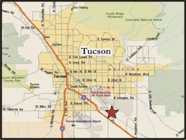 About Us ~ Map Of Tucson Az